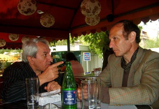 EREVAN AVEC HAÏK GRIGORIAN CHEF D'ORCHESTRE DU BALLET NATIONAL D'ARMEN