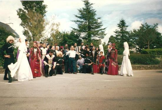 MONTOIRE 1991 AVEC LE GROUPE ARAGVELEBI DE GEORGIE